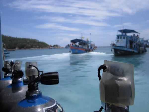 Thailandia barco de buceo